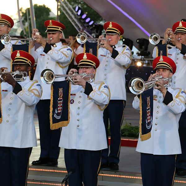 The U.S. Army Herald Trumpets