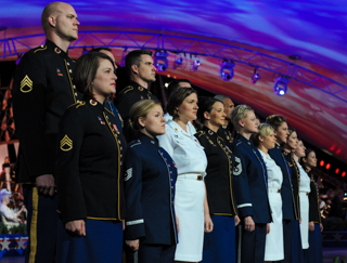 The joint armed forces chorus