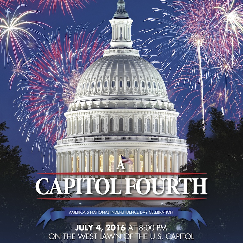 Poster for 2016 A Capitol Fourth