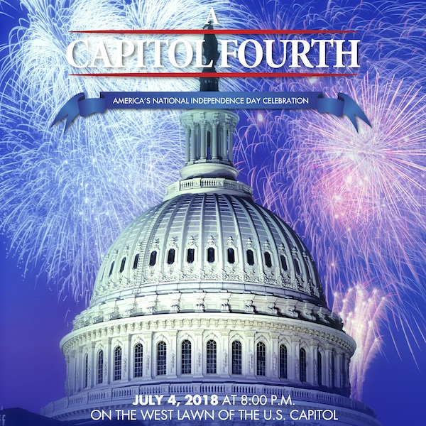 Poster for 2018 A Capitol Fourth