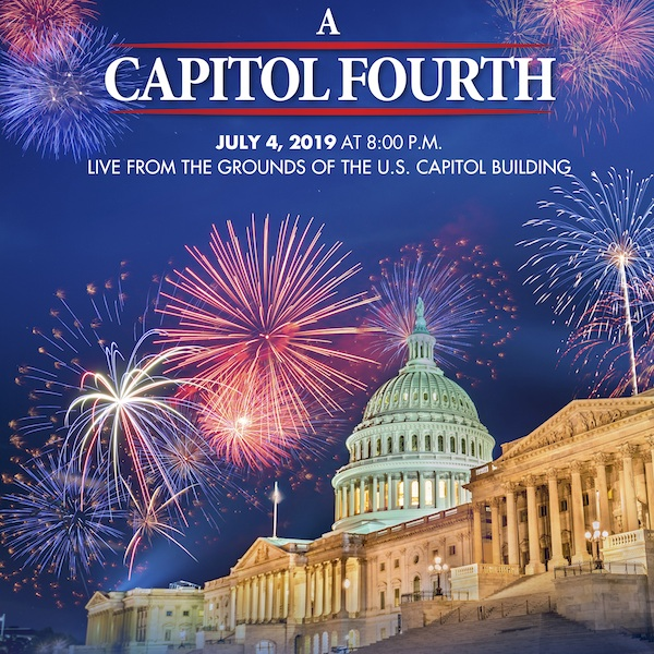 Poster for 2019 A Capitol Fourth