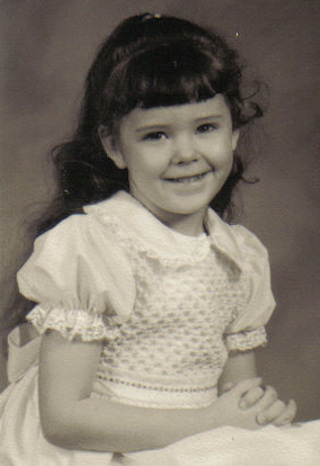 Michelle Baugh at five years old