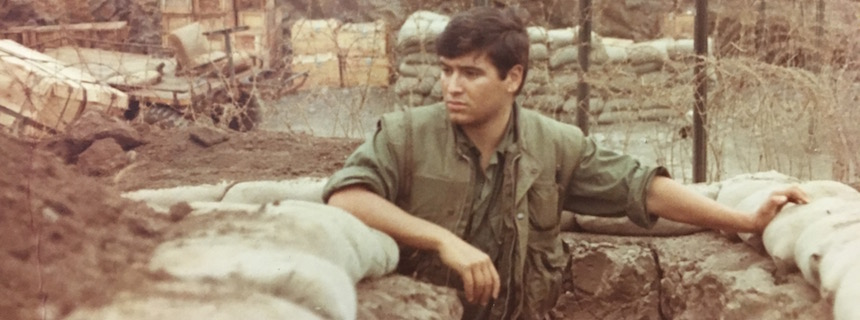 Bill Rider serving in Vietnam