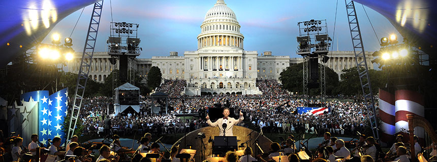 The National Memorial Day Concert on the west lawn of the U.S. Captiol