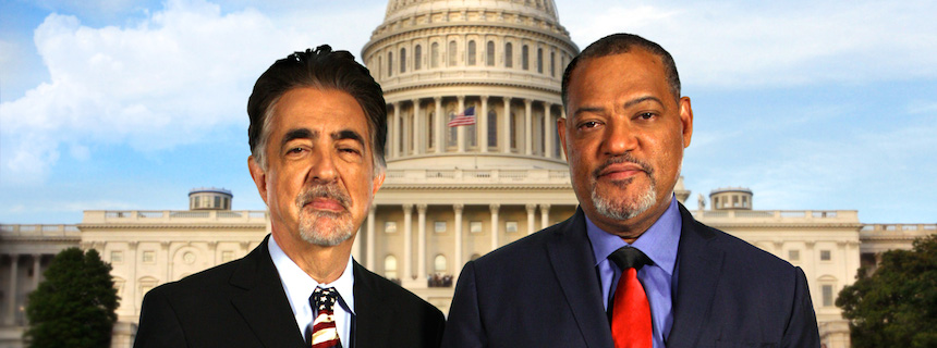 Joe Mantegna and Laurence Fishburne co-host the 2017 National Memorial Day Concert