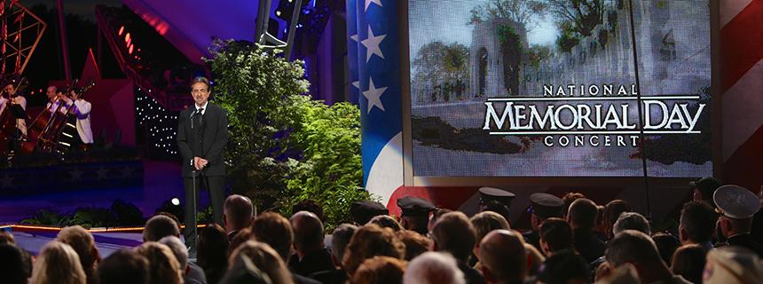 Joe Mantegna on the National Memorial Day Concert