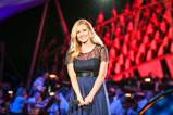 "On the 2015 National Memorial Day Concert, classical crossover star Katherine Jenkins moved the audience with her performance of ""Sanctus."""