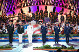 The Joint Chiefs of Staff on stage during the 2015 National Memorial Day Concert