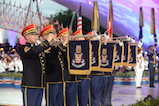 The Herald Trumpets open the 2016 <em>National Memorial Day Concert</em>.