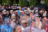 Service members attend the 27th <em>National Memorial Day Concert</em>.