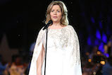"Renée Fleming performs ""How Can I Keep from Singing"" at the 27th <em>National Memorial Day Concert</em> on May 29, 2016 in Washington, DC."