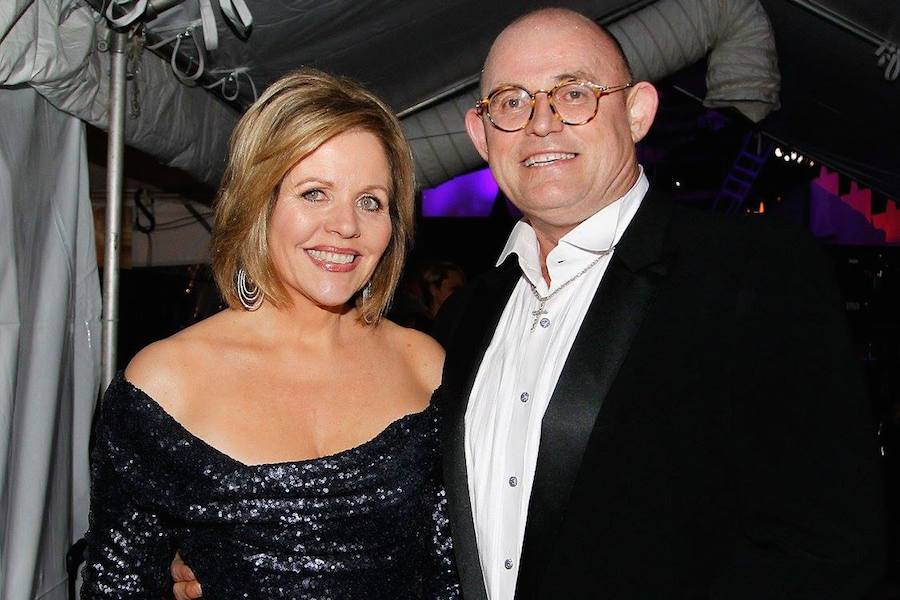 Grammy Award-winning classical music artist Renee Fleming and Irish Tenor Ronan Tynan backstage at PBS' 2017 <em>National Memorial Day Concert<em> - Rehearsals at U.S. Capitol, West Lawn on May 27, 2017 in Washington, DC. (Photo by Paul Morigi/Getty Images for Capital Concerts)