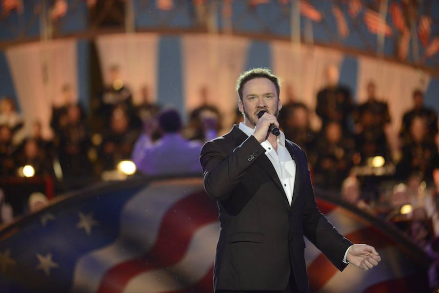 Cross-over artist Russell Watson performs at PBS' 2017 <em>National Memorial Day Concert</em> at U.S. Capitol, West Lawn on May 28, 2017 in Washington, DC.