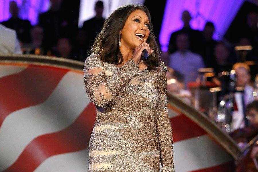 Singer and actress Vanessa Williams performs at PBS' 2017 <em>National Memorial Day Concert</em> at U.S. Capitol, West Lawn on May 28, 2017 in Washington, DC. (Photo by Paul Morigi/Getty Images for Capital Concerts)