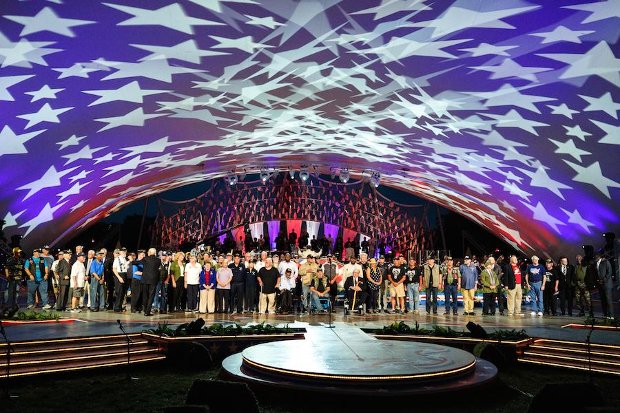 Vietnam War veterans receive a special tribute at the 2019 <em>National Memorial Day Concert</em>.