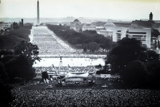 This view of the West Lawn of the U.S. Capitol was taken during an early Capital Concerts production.