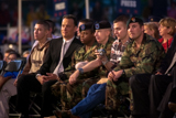 Tom Hanks and troops in attendance enjoyed the 2004 <i>National Memorial Day Concert</i>.