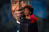 In 2005, Ruby Dee shared remembrances of her husband Ossie Davis, who hosted the <i>National Memorial Day Concert</i> 11 times.