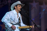 On the 2010 <i>National Memorial Day Concert</i>, Brad Paisley performs <i>Welcome to the Future</i> with his band.