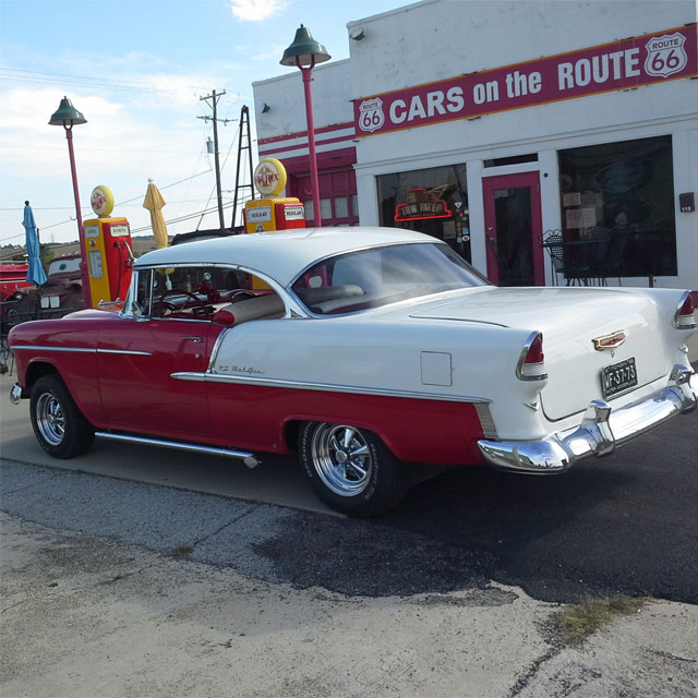 Bill F.'s 1955 Chevy Belair