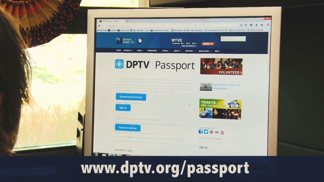 DPTV Passport | Support | DPTV
