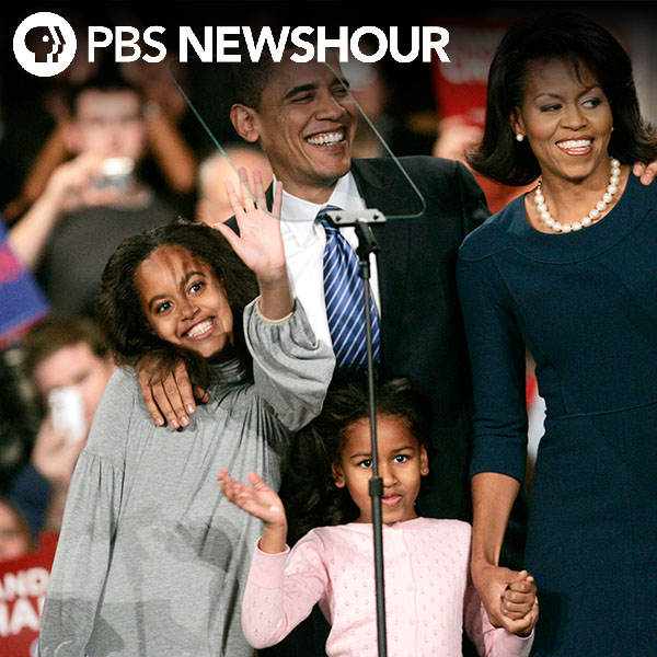 Photos: Malia & Sasha Obama grow up in the White House