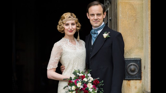 See Edith & Bertie's Downton Abbey Wedding Album