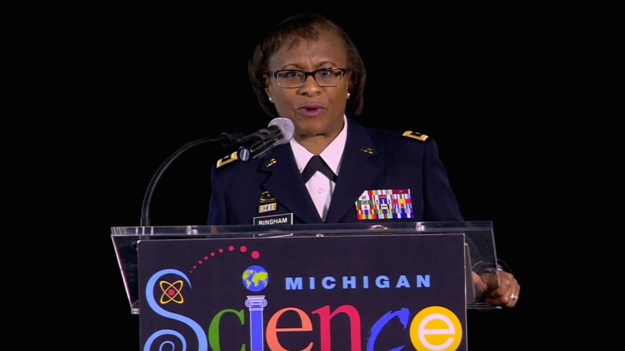 Major General Gwen Bingham
