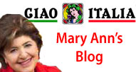 Mary Ann's Blog