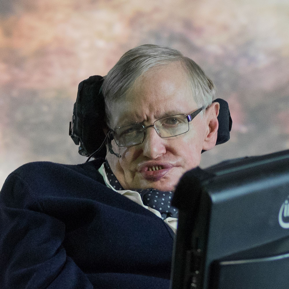 Stephen Hawking, theoretical physicist
