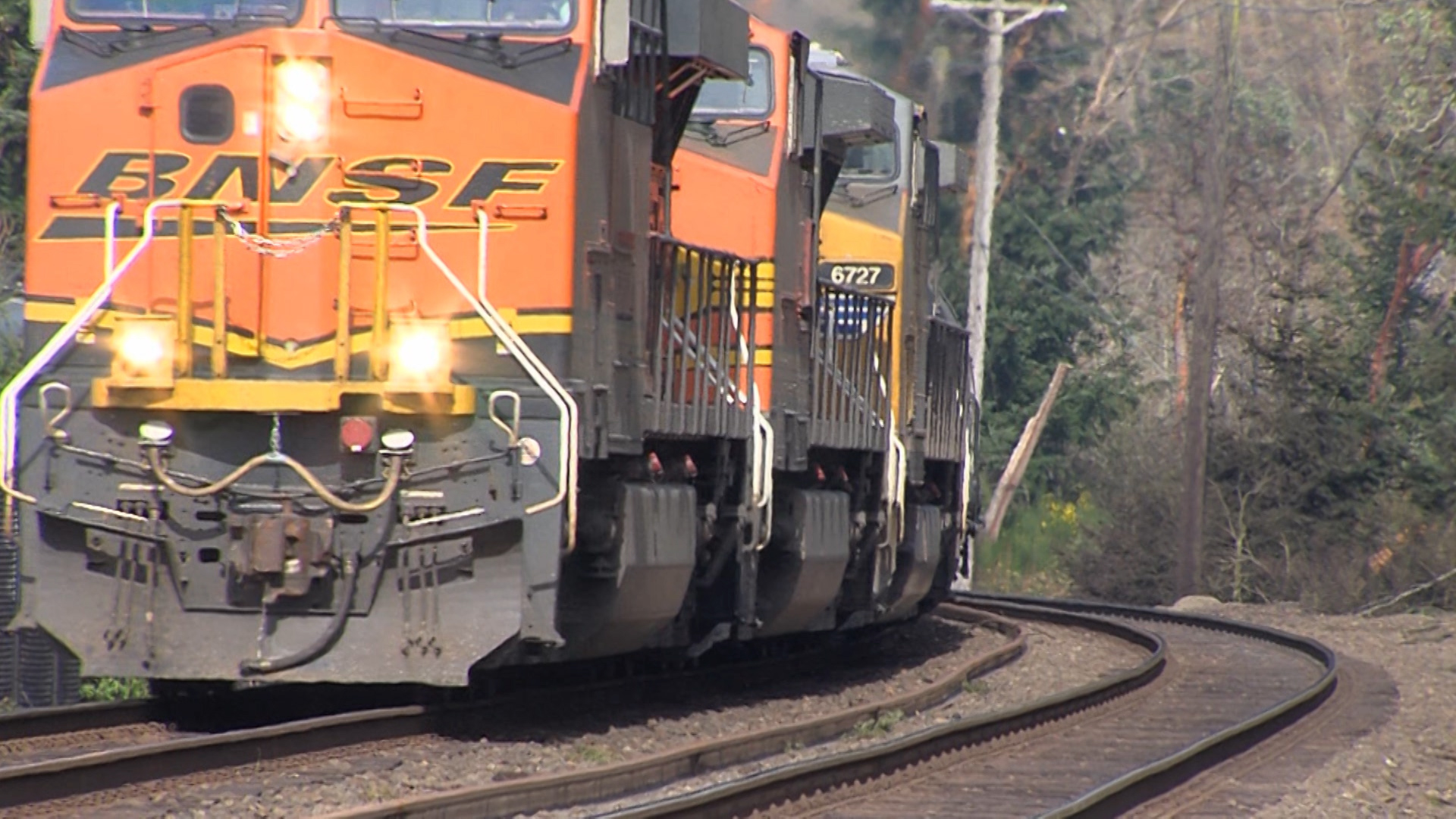 Coal Trains -  November 7, 2014