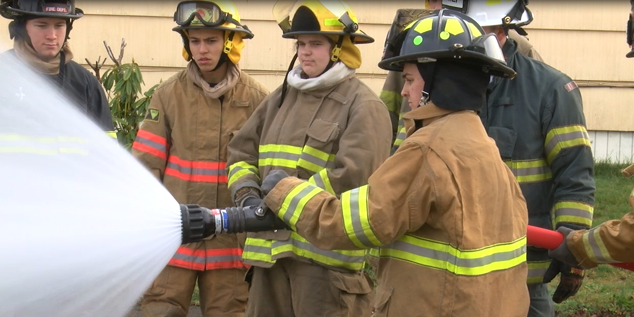 Student Fire Training