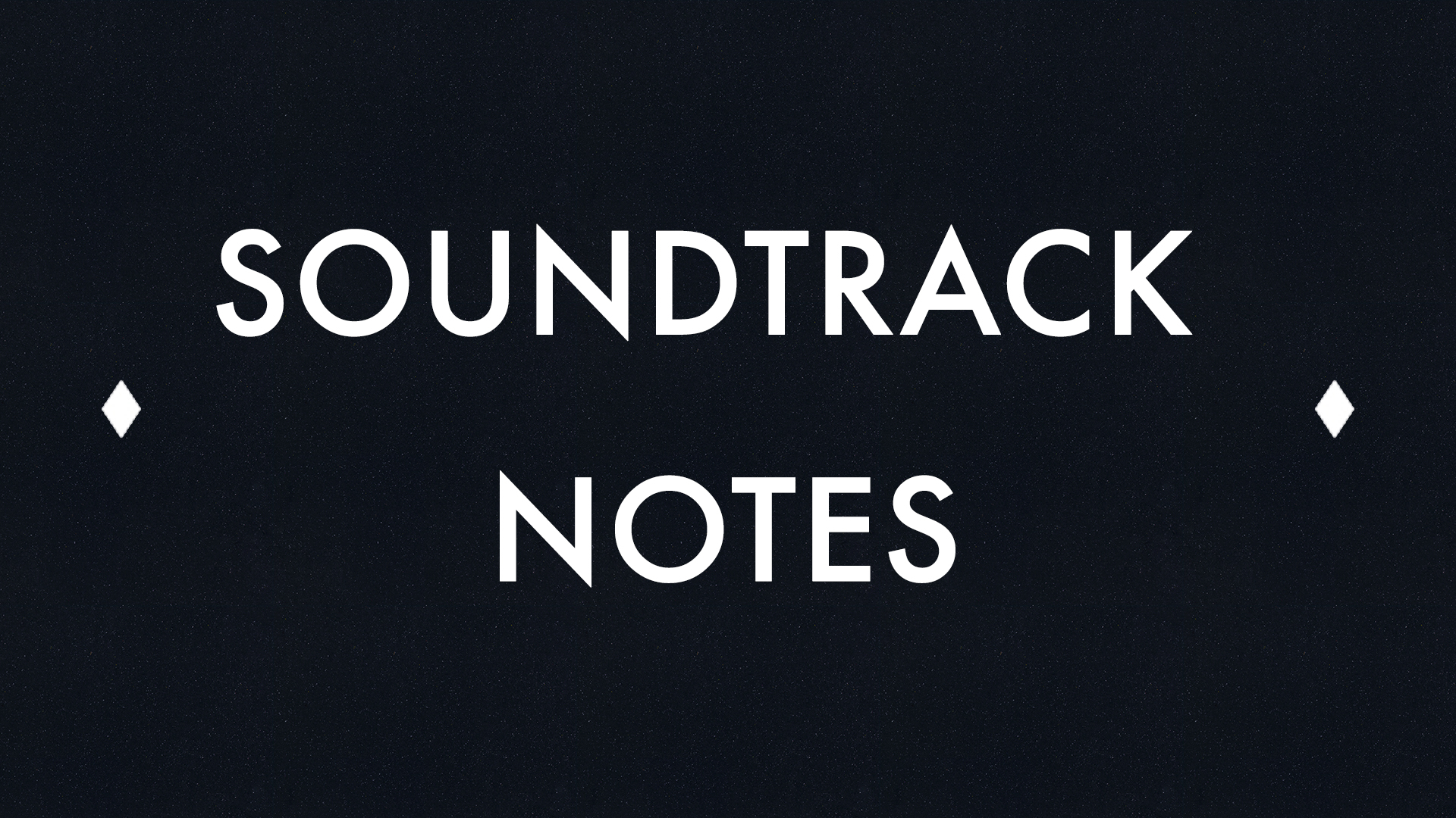 David Fricke Soundtrack Notes