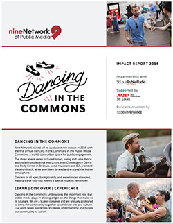 Dancing in the Commons Community Impact Report