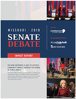 2018 Missouri Senate Debate Community Impact Report