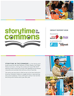 Storytime in the Commons Community Impact Report