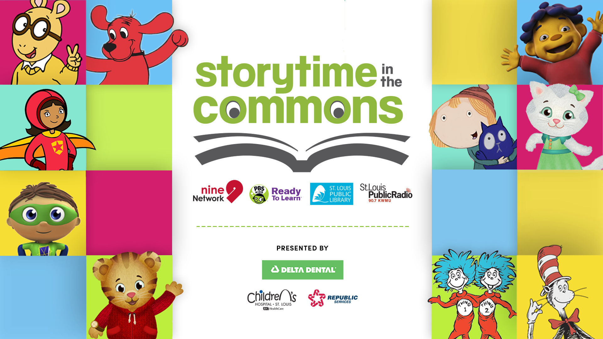 Storytime in the Commons