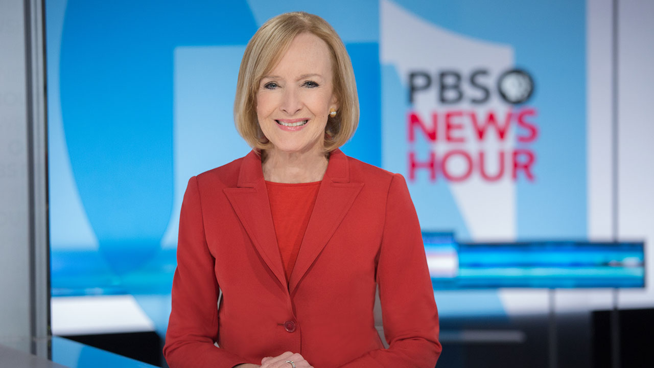 PBS NewsHour anchor Judy Woodruff