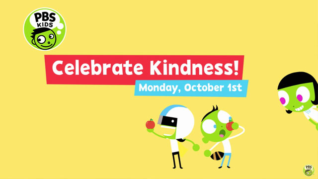 Celebrate KINDNESS with PBS KIDS!