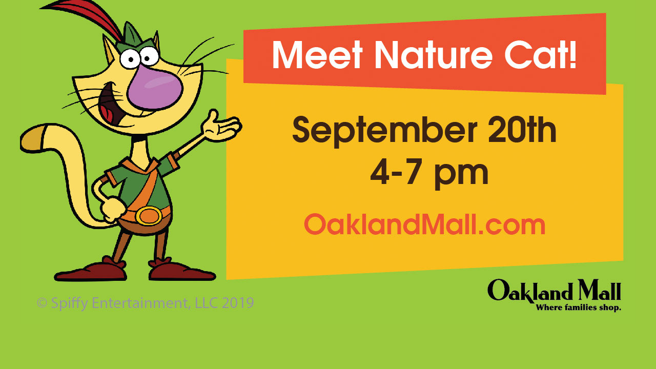 Nature Cat at Oakland Mall