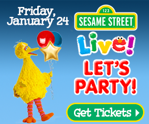Join us for Sesame Street Live on January 24, 2020
