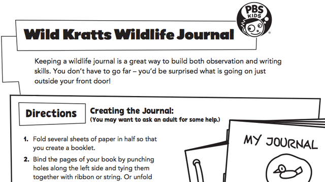 Wild Kratts Wildlife Journal