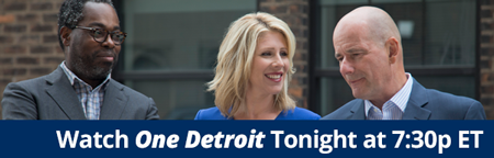 Watch One Detroit tonight