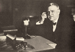 Senator Nathaniel Barksdale Dial in his DC office c 1921 THUMB.jpg