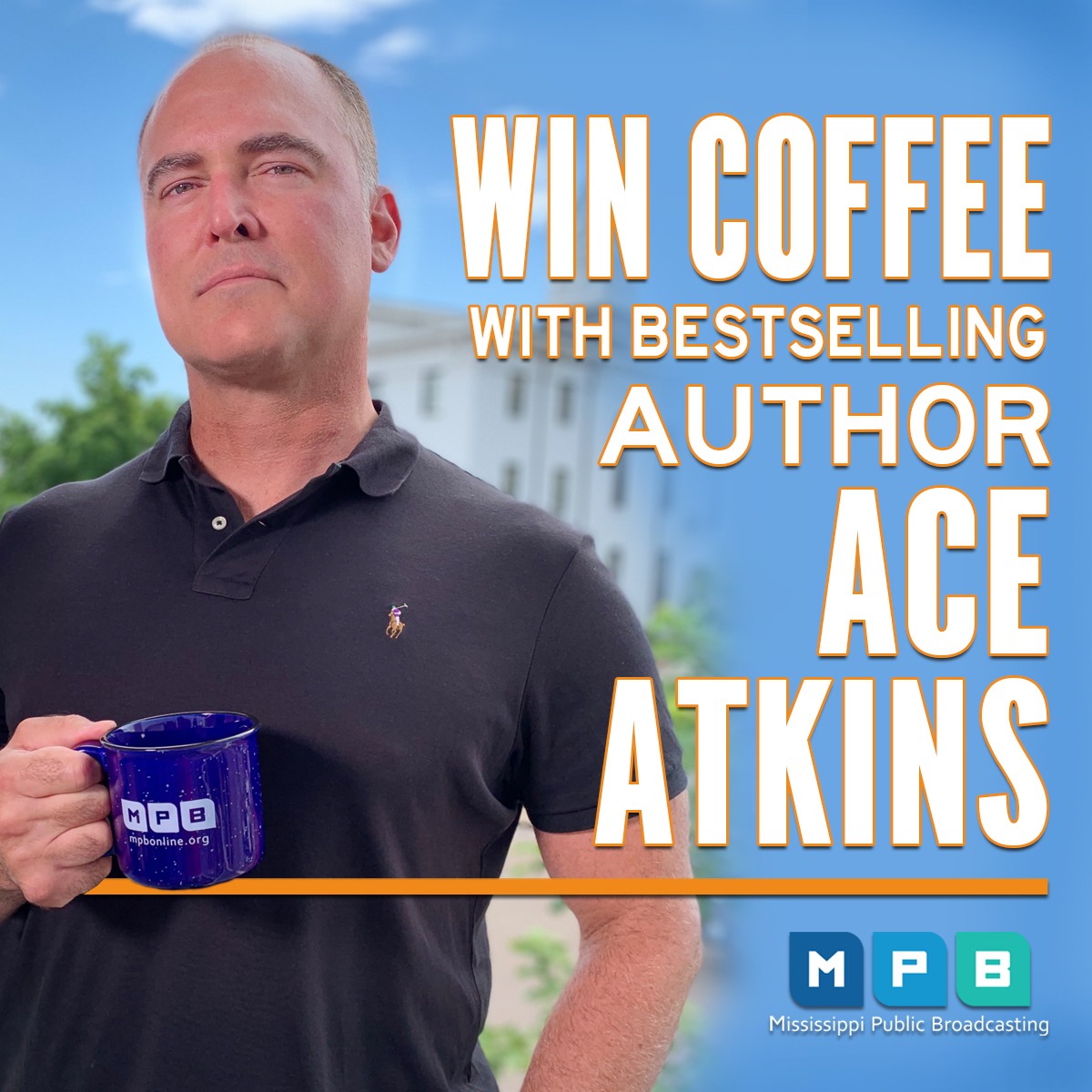 Coffee with Ace Atkins