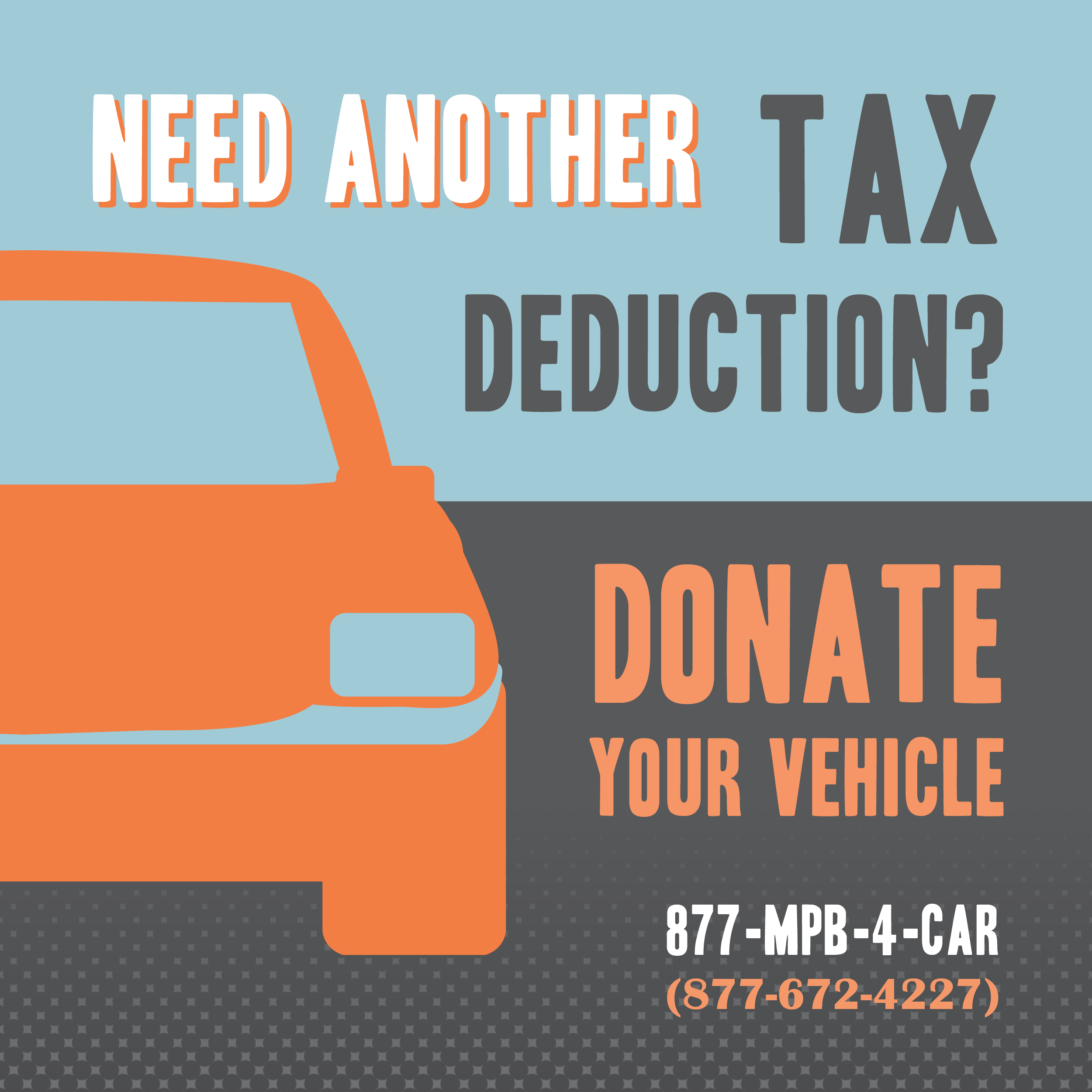 Donate your vehicle to MPB