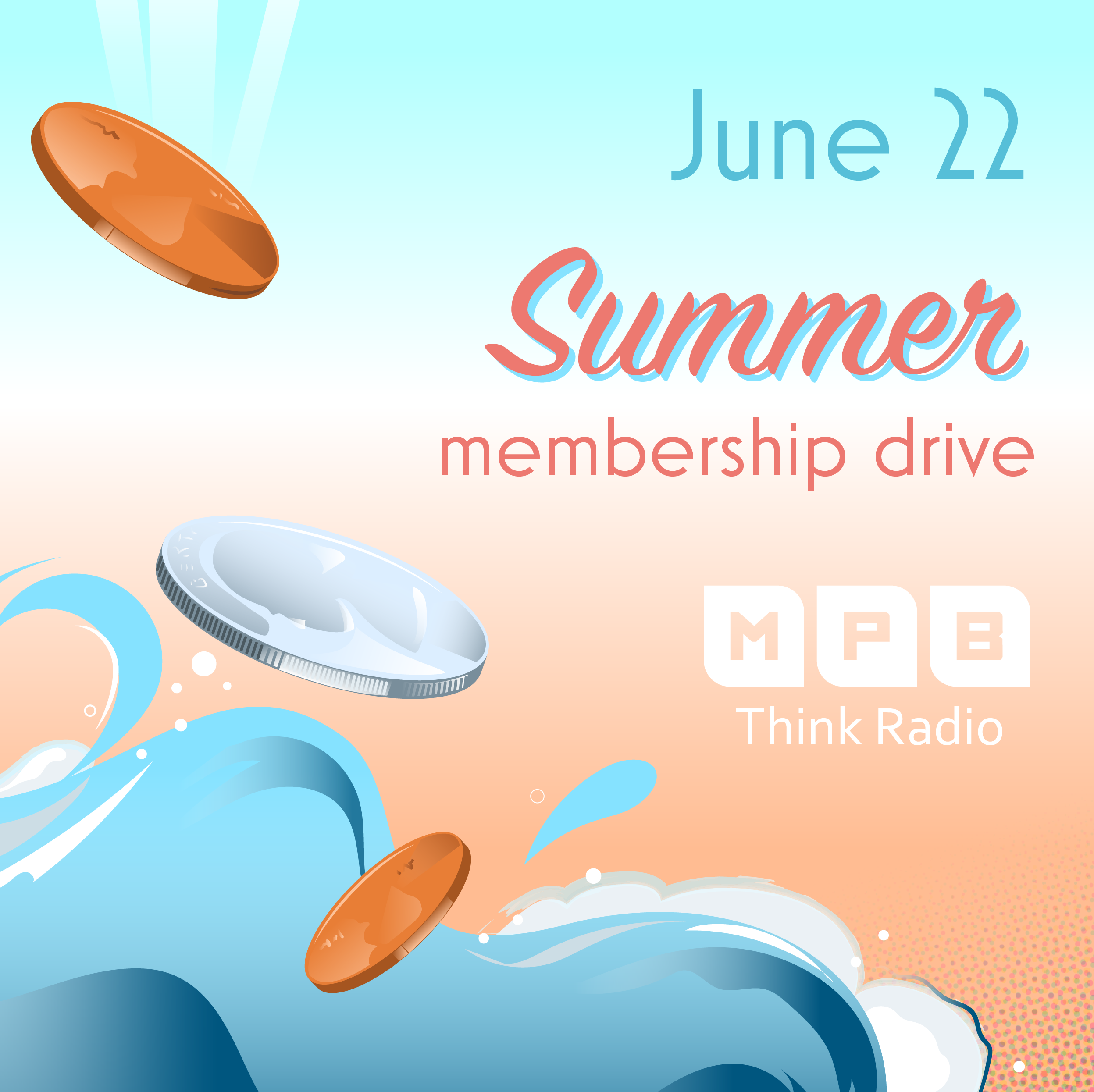 Become A Member of the MPB Foundation during our Summer Membership Drive.
