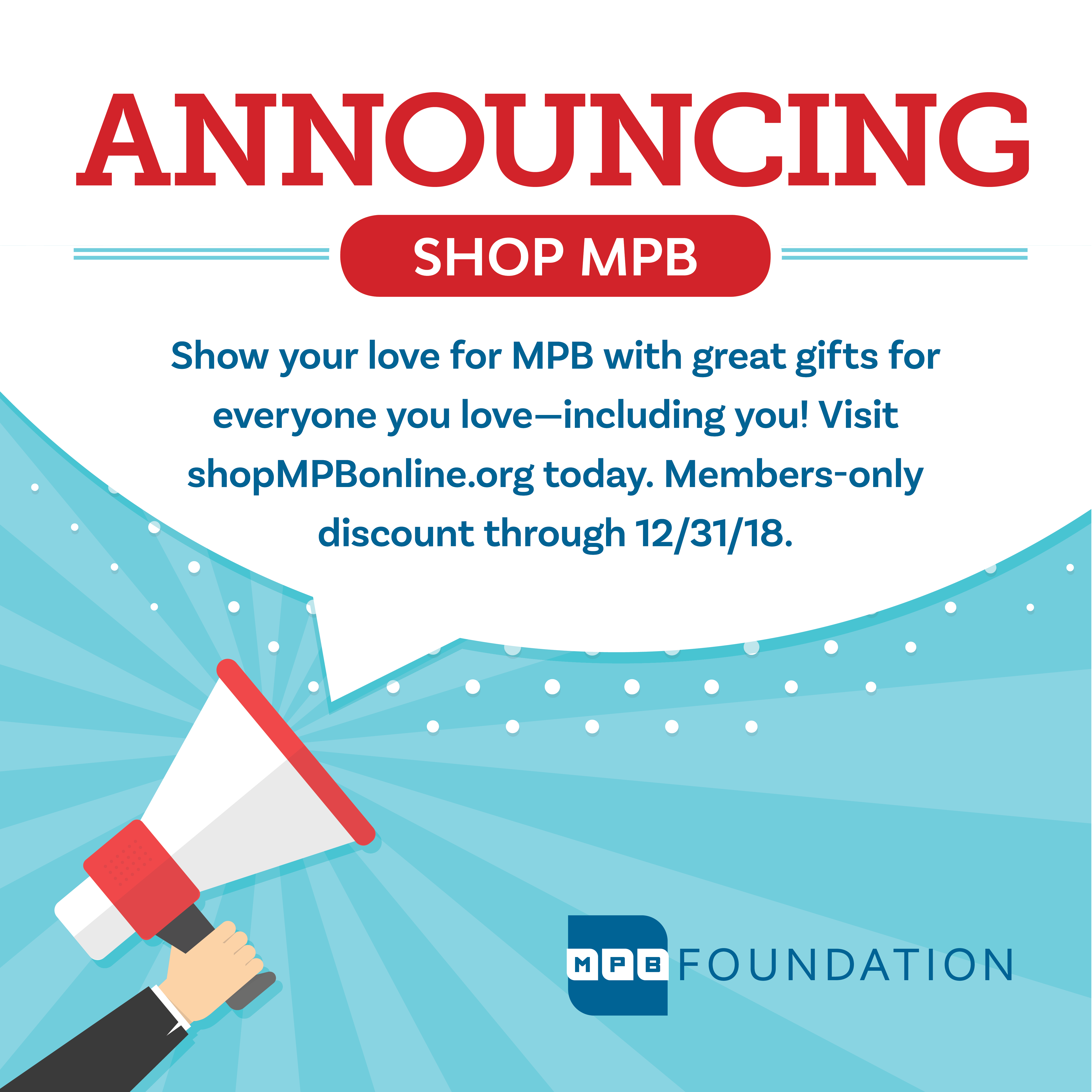 Shop now on the new MPB Online Store!