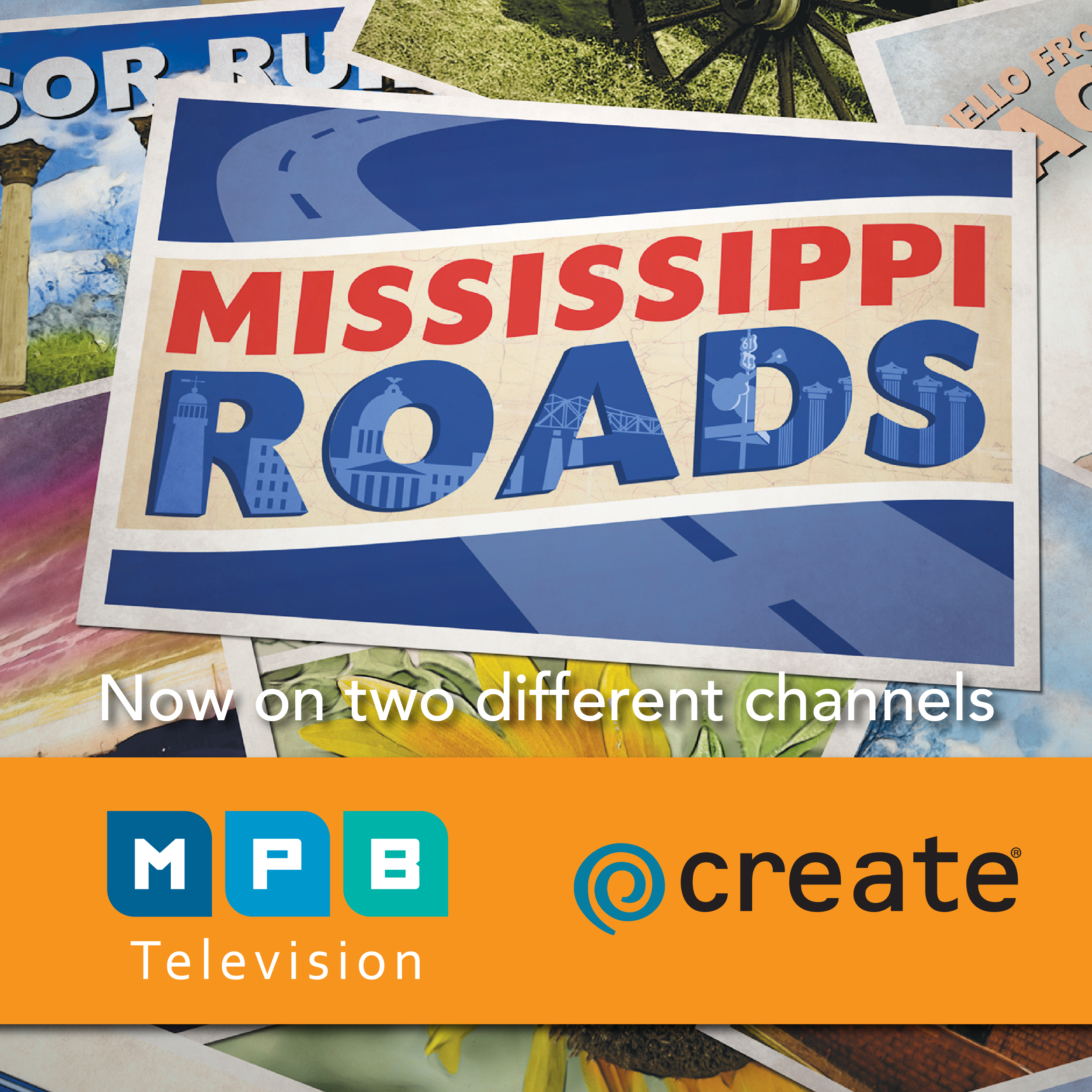 Mississippi Roads ANYTIME, ANYWHERE