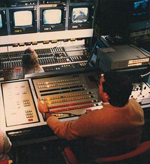 Vintage studio console